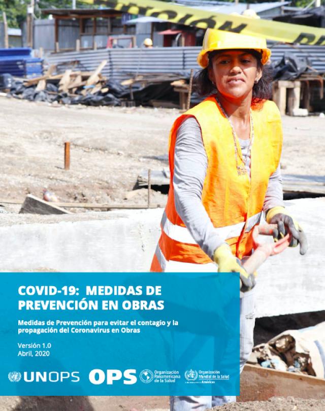Portada Manual Medidas de Prevención en Obras