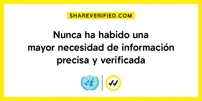 Nunca ha habido una mayor necesidad de información precisa y verificada