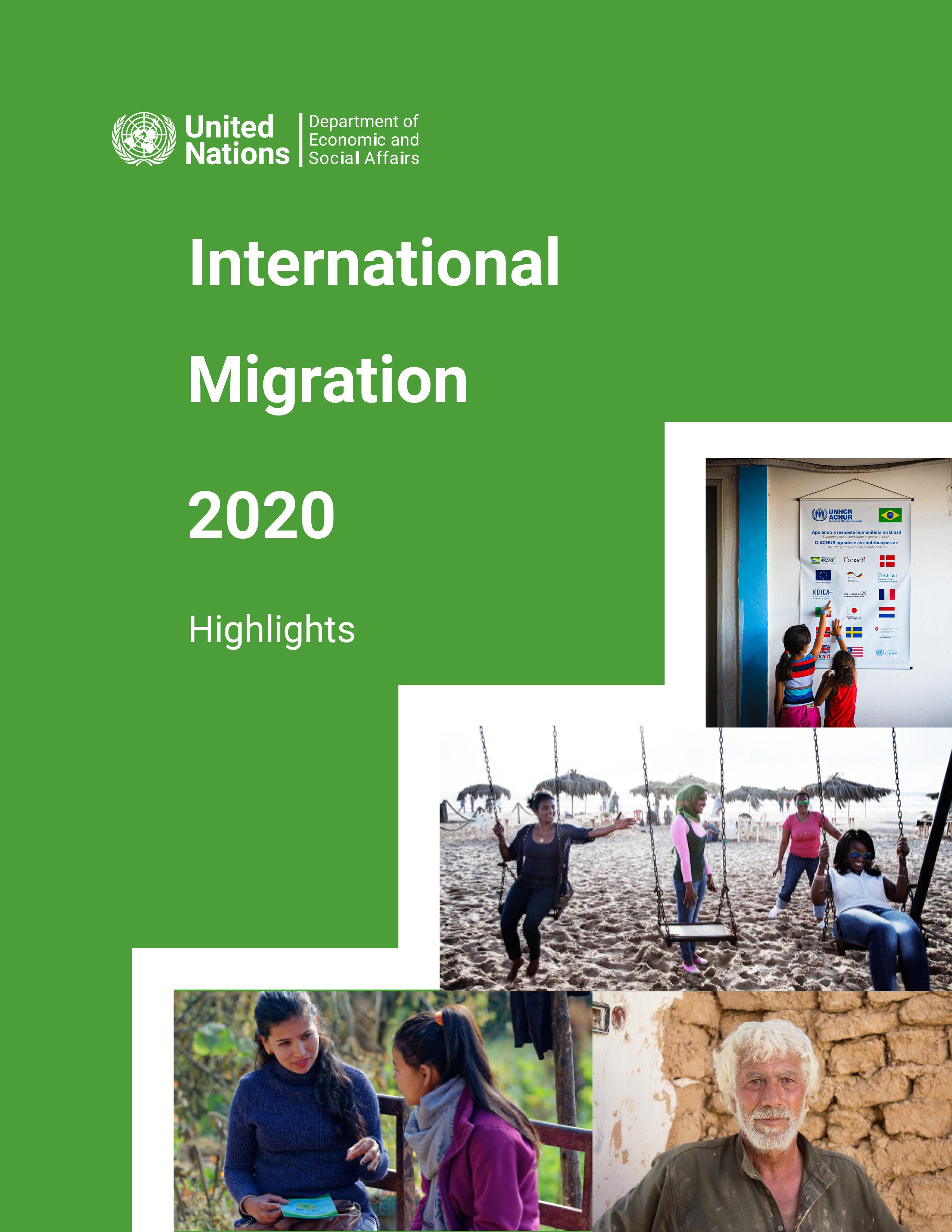 Aspectos Destacados de la Migración Internacional 2020