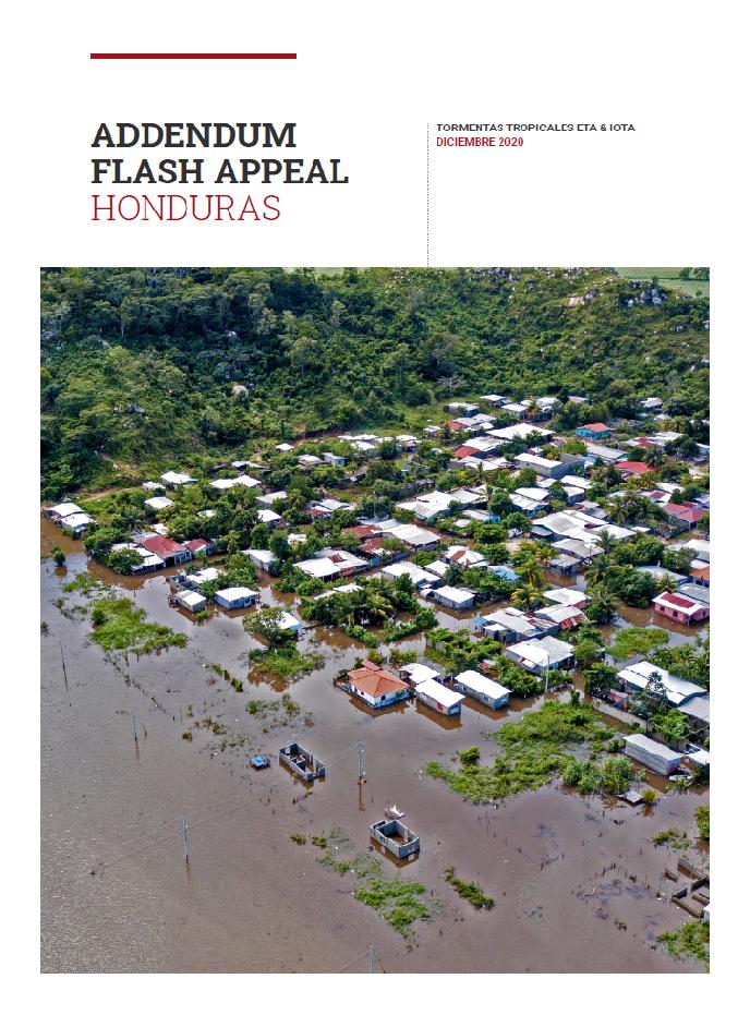 Portada Addendum Flash appeal Honduras