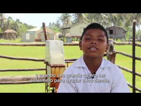 Historia de vida Mayson 13 años Mosquitia WASH