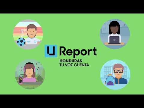 U-Report Honduras - Tu Voz Cuenta